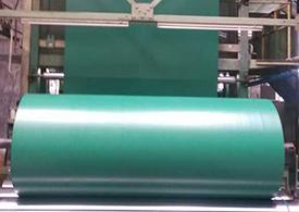 蓬布生产机