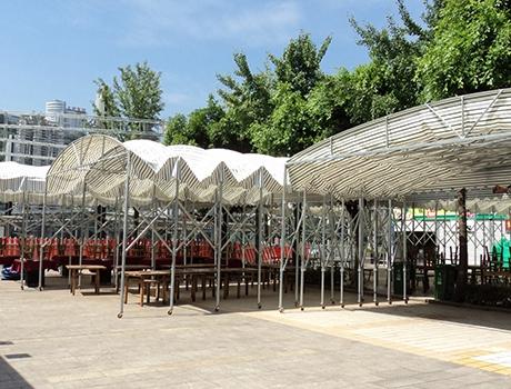 重庆推拉篷案例